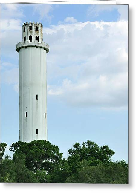Sulfur Greeting Cards - Sulfur Springs Water Tower Greeting Card by Carolyn Marshall