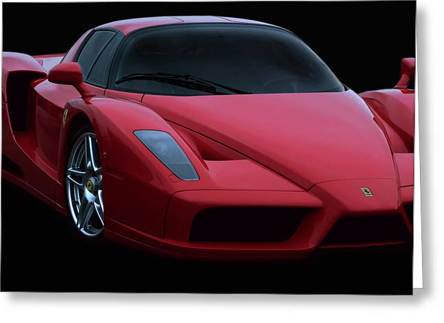 Ferrari Automobile Greeting Cards - Sultry Ride Greeting Card by Peter Chilelli