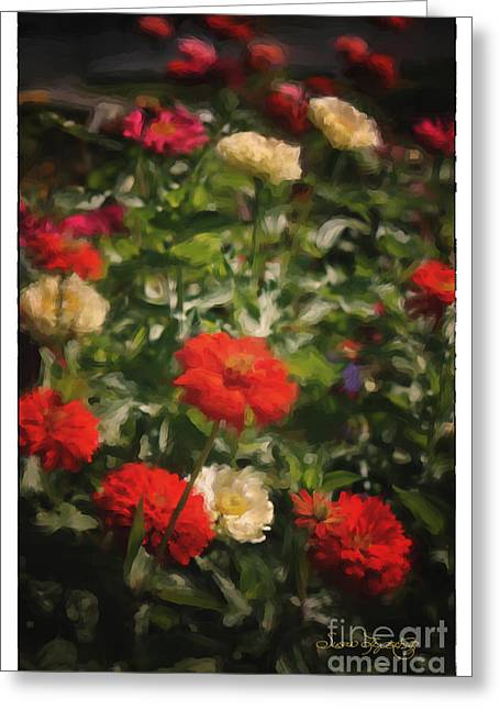 Botanical Greeting Cards - Summer Beauty 2 Greeting Card by Susan  Lipschutz