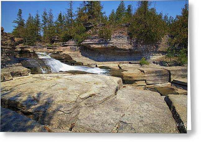 Bedrock Greeting Cards - Summer Bedrock Greeting Card by Phill  Doherty