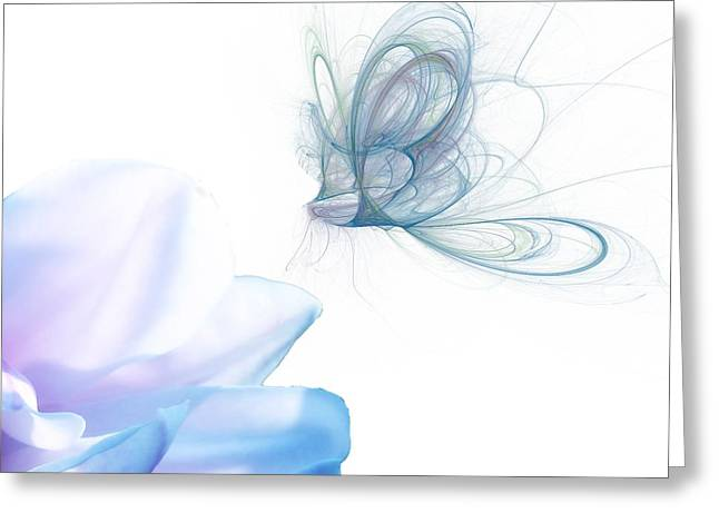 Spririt Greeting Cards - Summer blue Greeting Card by Sharon Lisa Clarke