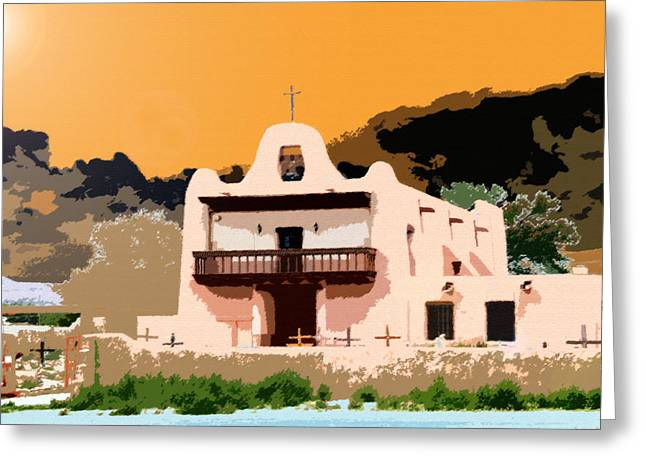 Religious Art Digital Art Greeting Cards - Summer Day Greeting Card by David Lee Thompson
