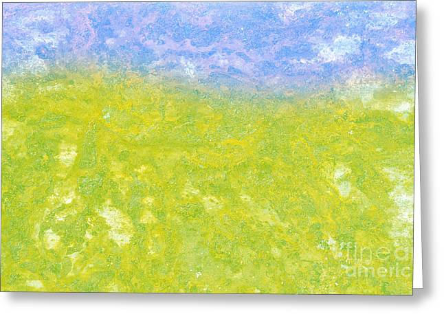 Summer Scene Mixed Media Greeting Cards - Summer Day Greeting Card by Igor Kislev