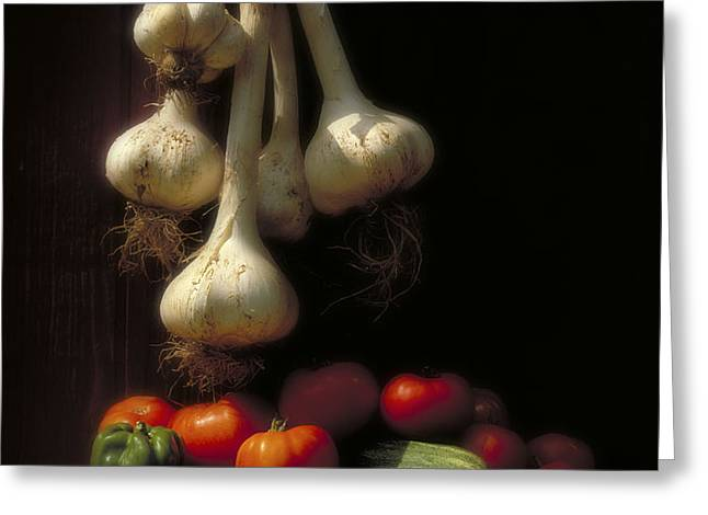 Summer Harvest Greeting Card by Garry McMichael
