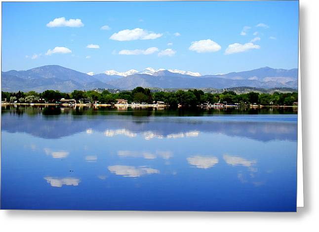 Loveland Greeting Cards - Summer in Loveland Greeting Card by Merja Waters