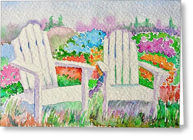 Elena Mahoney Greeting Cards - Summer In Paradise Greeting Card by Elena Mahoney