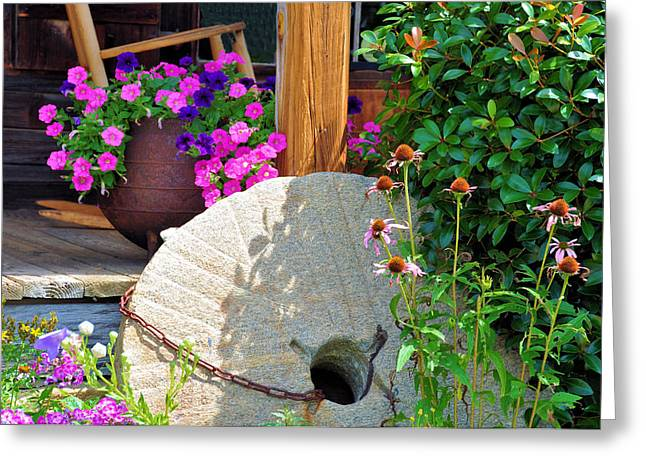 Millstone Greeting Cards - Summer Millstone Greeting Card by Jan Amiss Photography