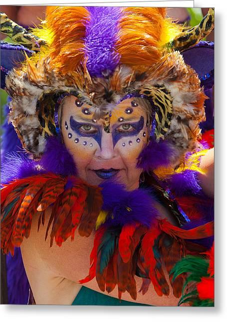 Nahmias Greeting Cards - Summer Solstice parade Santa Barbara 2011. Greeting Card by Eyal Nahmias