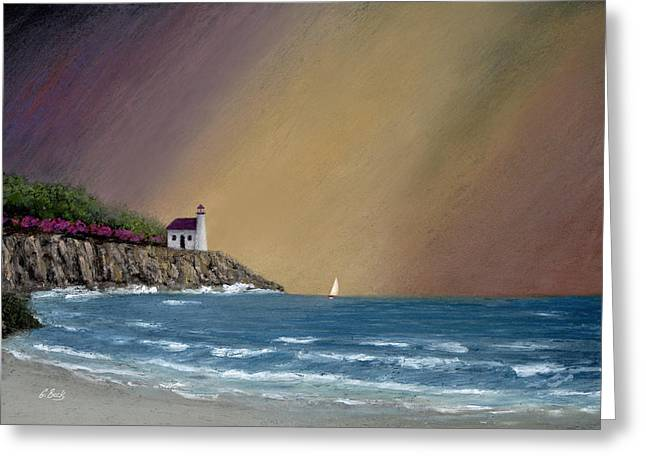 Summer Squall Greeting Card by Gordon Beck
