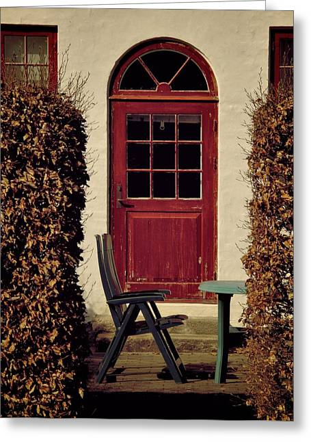 Old Door Greeting Cards - Summer State Of Mind Greeting Card by Odd Jeppesen