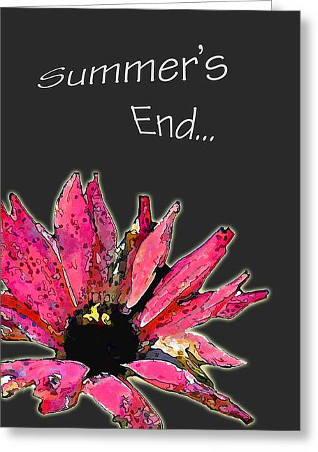 Summer's End Greeting Card by Larry Bishop
