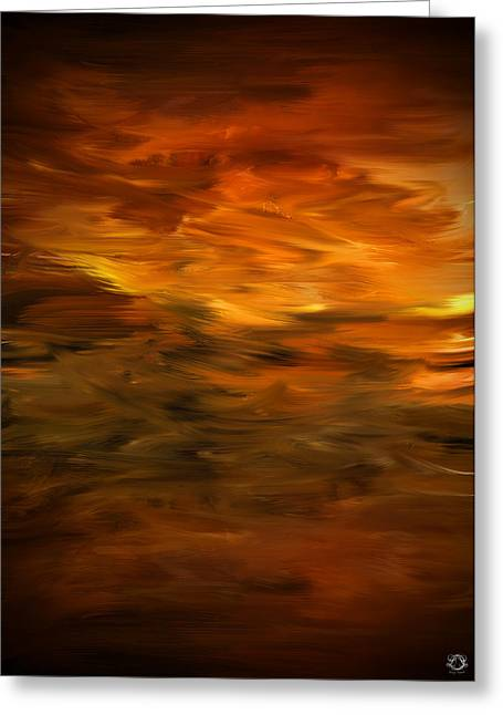 Pc Greeting Cards - Summers Hymns Greeting Card by Lourry Legarde