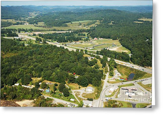 Speed Trap Greeting Cards - Summersville US Route 19  Greeting Card by Thomas R Fletcher