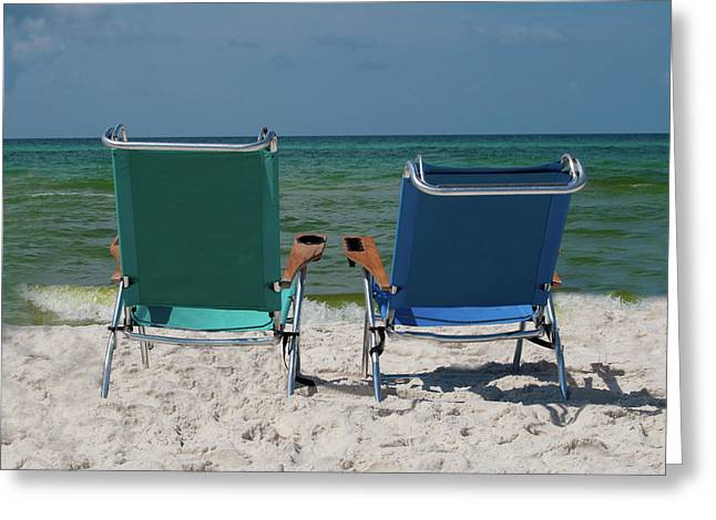 Panama City Beach Greeting Cards - Summertime Blues Greeting Card by Robert Carney
