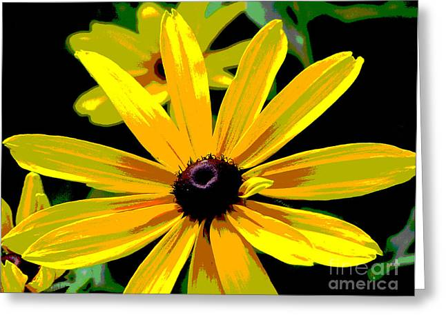 Flower Photos Greeting Cards - Summertime Sizzle Greeting Card by Ann Powell
