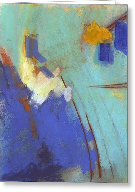Vibrant Pastels Greeting Cards - Summit Greeting Card by Ethel Vrana