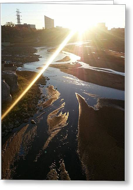 Web Gallery Greeting Cards - Sun Ray Greeting Card by David Alvarez