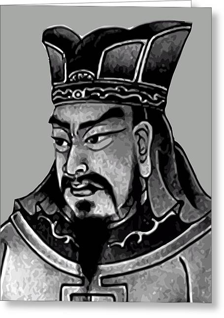 Leader Digital Art Greeting Cards - Sun Tzu Greeting Card by War Is Hell Store