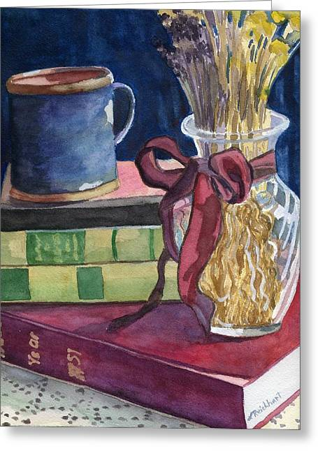 Glass Vase Greeting Cards - Sunday Afternoon Greeting Card by Lynne Reichhart