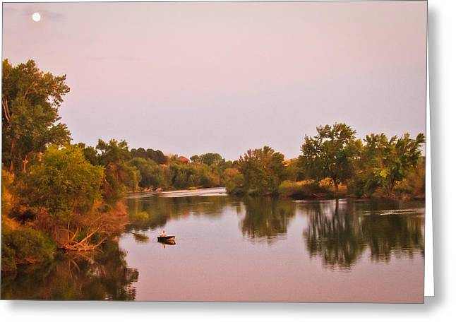 Scenic River Photography Greeting Cards - Sunday Afternoon Greeting Card by Robert Bales