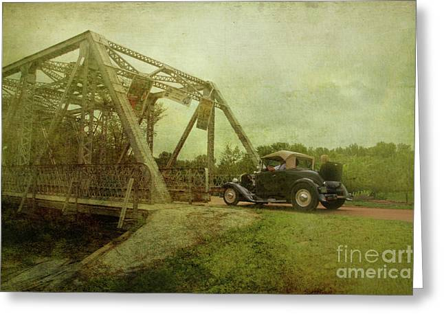 Driving Greeting Cards - Sunday Drive Greeting Card by Joel Witmeyer