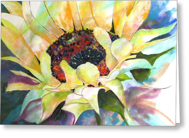 Sunflower IIi Greeting Card by Vicki Brevell