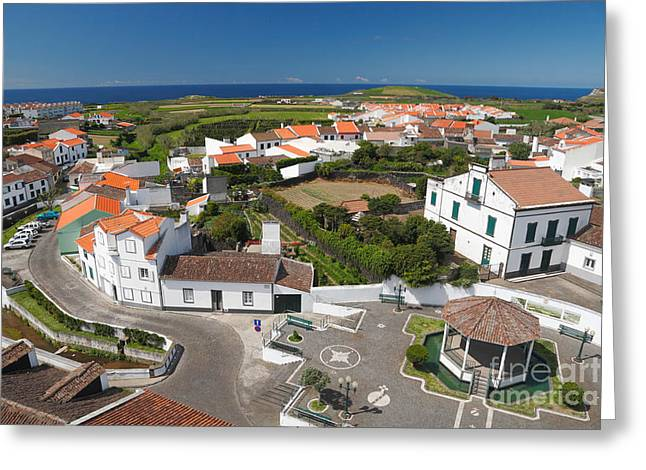 Azores Greeting Cards - Sunny day at Ribeirinha Greeting Card by Gaspar Avila