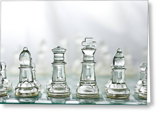 Chess Rook Greeting Cards - Sunny Day on the BattleField  Greeting Card by David Paul Murray