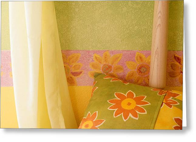Interior Still Life Greeting Cards - Sunny Morning Greeting Card by Jerry McElroy