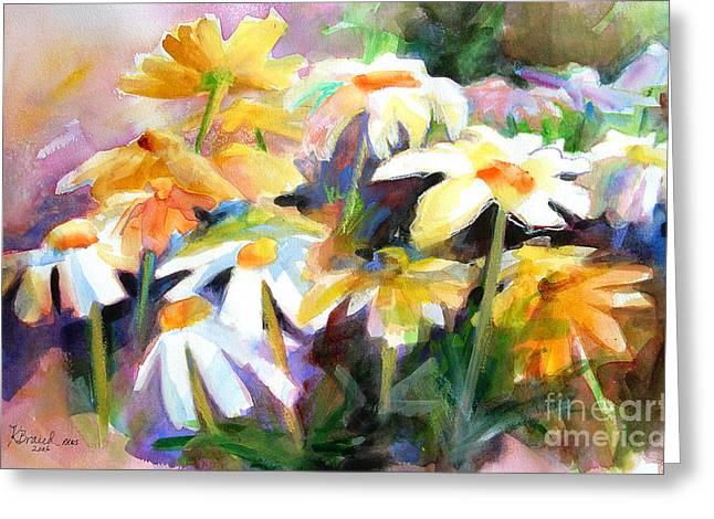 Sienna Greeting Cards - Sunnyside Up            Greeting Card by Kathy Braud