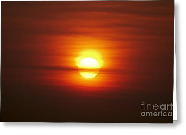 Sunrise Greeting Cards - Sunrise 1 Greeting Card by Tony Cordoza