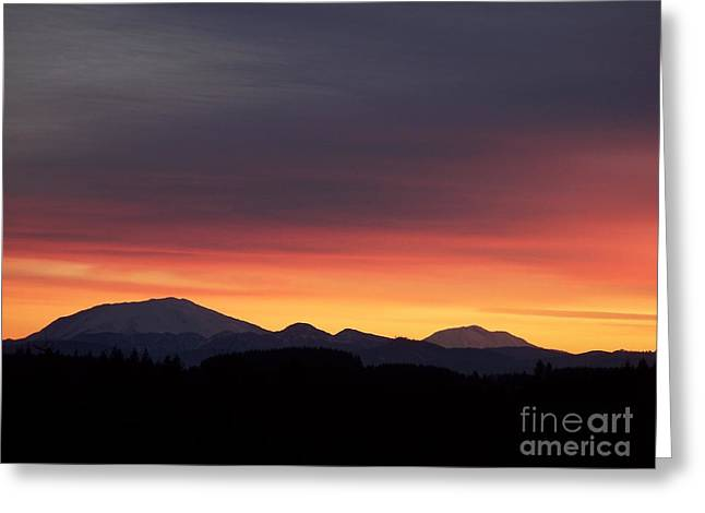 Sunrise 3 Greeting Card by Chalet Roome-Rigdon