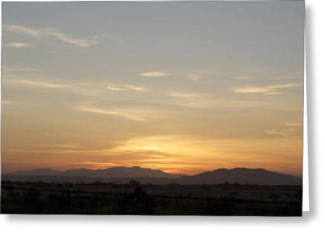 Jeremy Greeting Cards - Sunrise At Miramar Landfill Number2 Greeting Card by Jeremy McKay