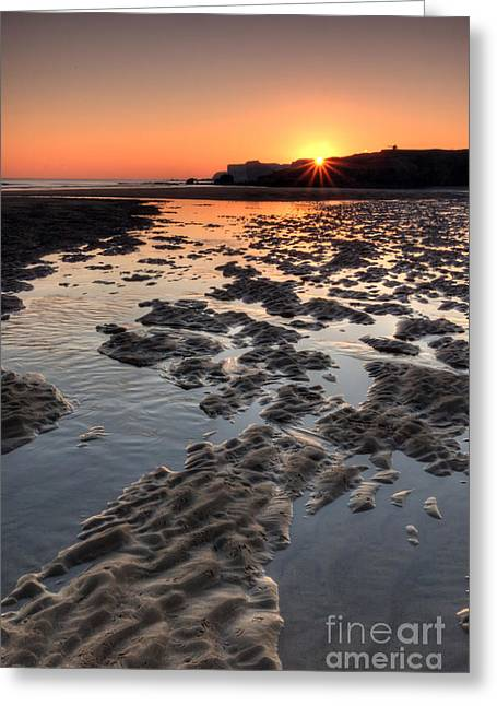 Sunrise At Trow Rocks II Greeting Card by Ray Pritchard