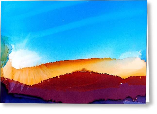 Sunrise Greeting Card by Joyce Auteri