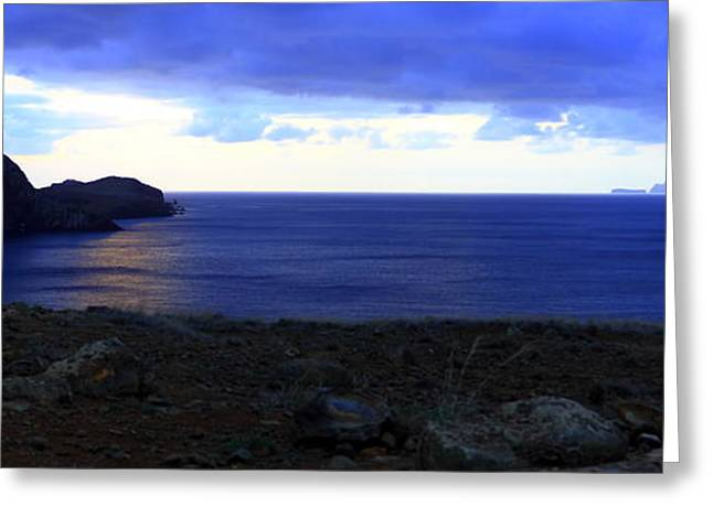 Motivational Poster Greeting Cards - Sunrise Madeira Greeting Card by Sandra Vieira