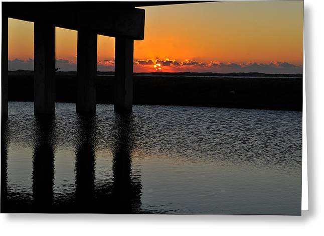 Jacksonville Greeting Cards - Sunrise On A1A Greeting Card by William Jones