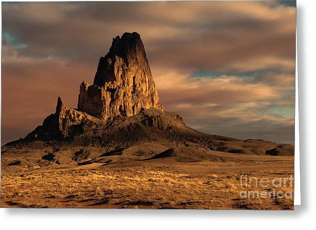 Sunrise On El Capitan Greeting Card by Sandra Bronstein
