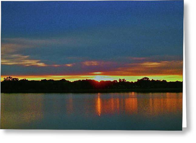 Insel Greeting Cards - Sunrise over Ile-Bizard - Quebec Greeting Card by Juergen Weiss