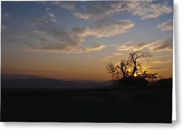 Sunrise Over Sand Pass Greeting Card by Kurt Golgart