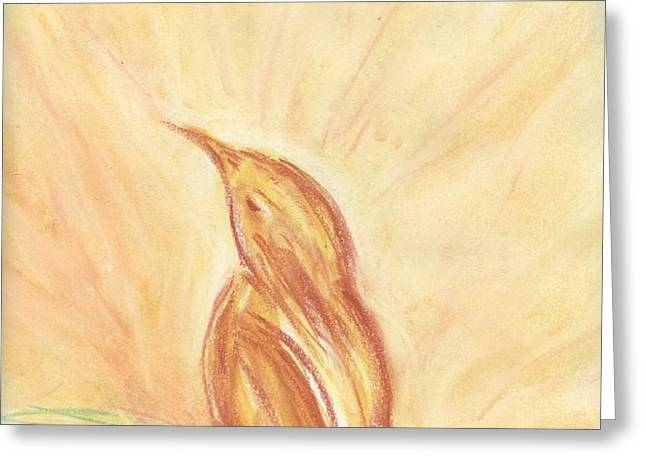 Sunrise Greeting Card by Paula Cork
