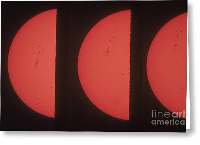 Rotation Greeting Cards - Suns Northern Hemisphere Greeting Card by Science Source