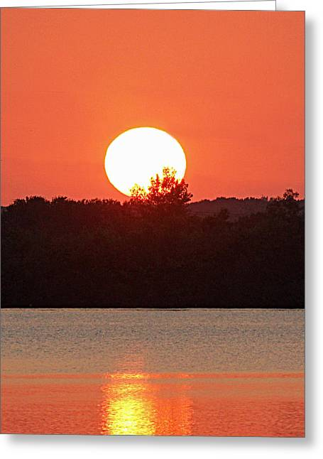 Becky Greeting Cards - Sunset 3 Greeting Card by Becky Lodes