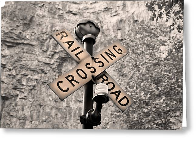Sunset Crossing  Greeting Card by Betsy C Knapp