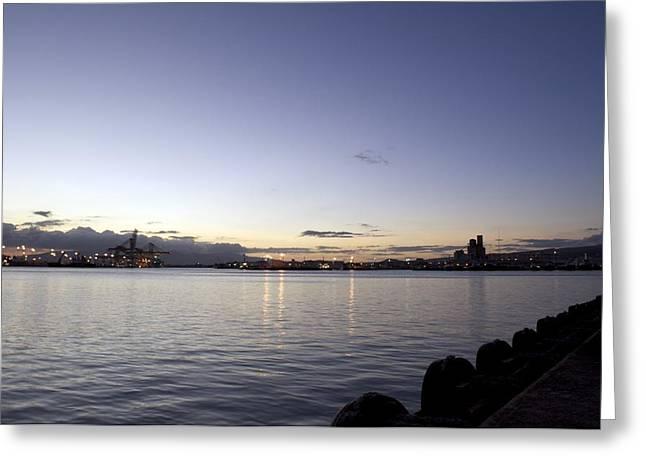 Robert Martin Greeting Cards - Sunset in Waikiki Greeting Card by Robert Martin