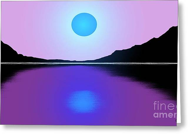 Sunset No. 4 Greeting Card by George Pedro
