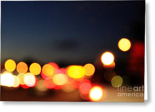 Sunset on The Golden Gate Bridge Greeting Card by Linda Woods