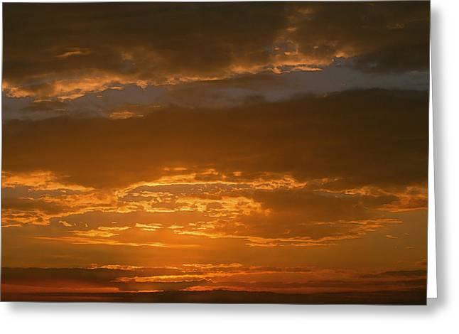 Lyle Huisken Greeting Cards - Sunset Over Boca Grande Greeting Card by Lyle  Huisken
