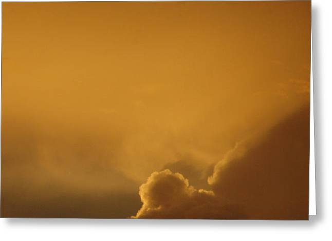 Sunset Skies Greeting Card by Anahi DeCanio