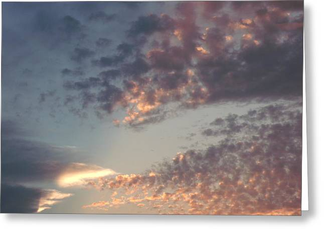 Distance Framed Prints Greeting Cards - Sunset Speckles Greeting Card by Brian  Maloney